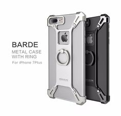 New Stylish Alloy Smart Luxury Case with Ring Kickstand for Apple iPhone 6 6S 7 / Plus