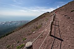 Trail to the Top of Mount Vesuvius