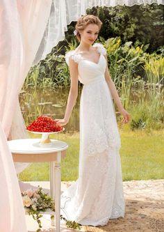 Платья : Средиземноморские свадьбы (в греческом, итальянском стиле) фото : 564 идей 2017 года на Невеста.info