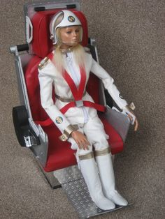 Stop Laughing! This 'Doll' was my first fantasy crush from about the age of Destiny Angel from Captain Scarlet. Ufo Tv Series, Best Series, Sci Fi Tv, Sci Fi Books, Science Fiction, Joe 90, Thunderbirds Are Go, Futuristic Motorcycle, Sci Fi Comics