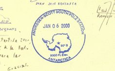 10 Coolest Passport Stamps in the World: The South Pole