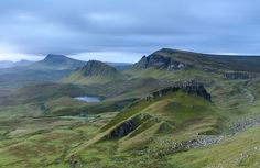 The Quiraing - Isle of Skye, Scotland by Kenneth Cox