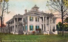 Malmaison, Greenwood LeFlore's home and the inspiration for Ironwood!