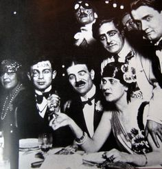 Dada Artists at the Cabaret Voltaire, 1916