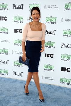 Rosario Dawson at the Spirit Awards