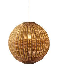 Rattan basket light ceiling bamboo lamp wood wicker chandelier hermosa pendanthermosa pendant aloadofball Image collections