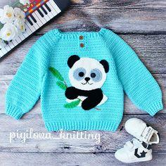 Fabulous Crochet a Little Black Crochet Dress Ideas. Georgeous Crochet a Little Black Crochet Dress Ideas. Crochet Baby Sweaters, Knitted Baby Clothes, Crochet Clothes, Knit Crochet, Baby Girl Crochet, Crochet For Boys, Knitting For Kids, Baby Knitting, Baby Patterns