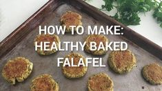 See how simple it is to make our healthy, homemade version of falafel. We used canned beans and the oven to put these together in no time. Enjoy them in pitas and salads for an easy, vegetarian meal.