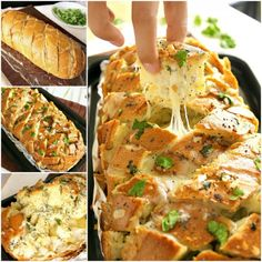 Cheesy Garlic Pullapart Bread Video Recipe