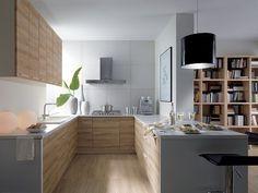 87th smooth street kitchen cabinets - u shaped kitchen
