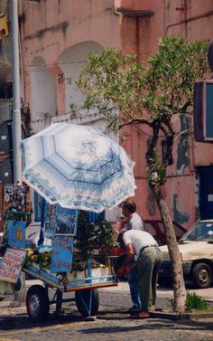Procida, Italy. Procida is one of the Flegrean Islands off the coast of Naples in southern ITALY