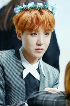 Hobi's so beautiful :') if anyone dares to call him ugly I'd slap them with a fish