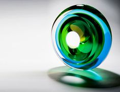 Echoes of Green by Tim Rawlinson at London Glassblowing