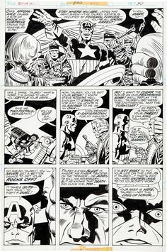 CAPTAIN AMERICA 200 p 30 Comic Art