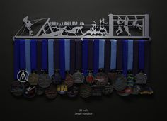 Obstacle Course | Sport & Running Medal Displays | The Original Stainless Steel Medal Display