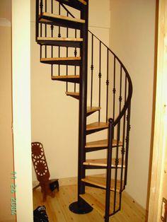 neat - narrow attic stairs