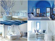 """Résultat de recherche d'images pour """"table jardin ronde bleu grec"""""""