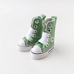 Neo Blythe Pullip Azone Doll Canvas Sneakers Micro Shoes - Green  | eBay