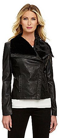Nurture Faux-Leather Jacket on shopstyle.com