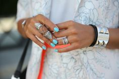 August Nail Brights + Delights