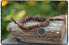 Mystic Copper Hematite & Rustic Artisan Sun by ShortDogJewelry