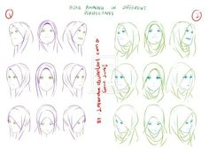 A hijab tutorial by me. Since some people having trouble drawing awning especially those with soft types of hijab. Hope this helps. A tutorial for Hijab awning - Perspectives Manga Drawing Tutorials, Drawing Techniques, Drawing Tips, Drawing Reference, Art Tutorials, Drawing Sketches, Drawing Art, Photo Reference, Hijab Drawing