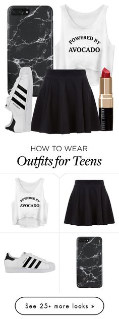 """Untitled #708"" by carenza-spence on Polyvore featuring Bobbi Brown Cosmetics and adidas"