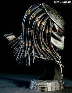 Predator 1: Masked Hunter Büste, Büste ... http://spaceart.de/produkte/pr001.php