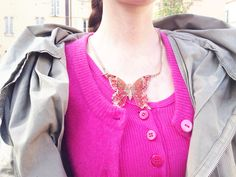 #bijoux #necklace #colors  #butterflies  @ipstyle