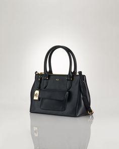 40d85de393 Layla Double-Zip Shopper - Lauren Lauren Handbags - RalphLauren.com