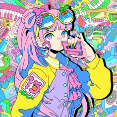 Moe Moe by Moe Shop on SoundCloud Arte Do Kawaii, Kawaii Art, Kawaii Anime, Art And Illustration, Aesthetic Anime, Aesthetic Art, Anime Kunst, Anime Art, Pretty Art