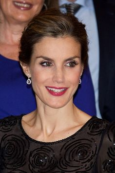 Queen Letizia of Spain attends the 'Francisco Cerecedo' journalism award 2014 ceremony at the Ritz Hotel on November 5, 2014 in Madrid, Spain.