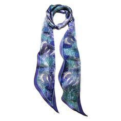 Azure Sky Bird Scarf by Armitage Design from notonthehighstreet.com