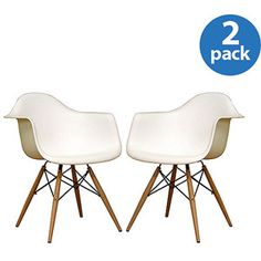 Yes, from Walmart. Don't judge! I can't afford the real thing so these are pretty cool.  Baxton Studio Pascal Modern Shell Chairs, Set of 2, Multiple Colors