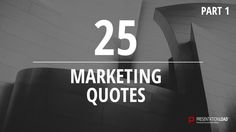 Free PowerPoint Quotes about Marketing