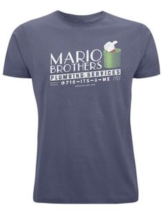 Mario Brothers Plumbing Services - T-shirt