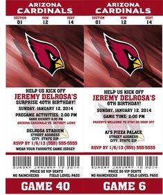 67 Best arizona cardinals football party images | Arizona cardinals