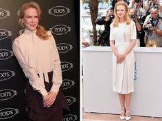 Las mejores reglas de un look de Nicole Kidman #moda #fashion #mujer #foto