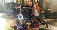 Alan Van Sprang & Katherine McNamara BTS of Shadowhunters Shadowhunters Actors, Shadowhunters The Mortal Instruments, Clary Und Jace, Clary Fray, Mortal Instruments Funny, Girl Meets World Cast, Cute Animal Quotes, Streaming Tv Shows, Clace