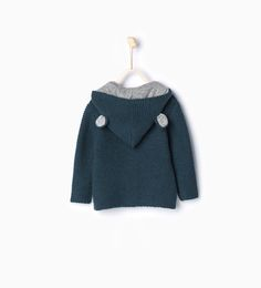 ZARA - KIDS - Knit cardigan with ears