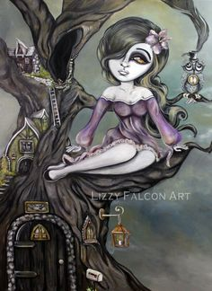 """""""Figments of the Imagination"""" by Lizzy Falcon"""