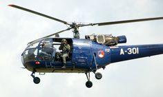 Dutch Alouette III SE-3160, Vlb.Volkel The Netherlands