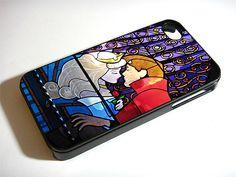 Sleeping Beauty Glass iPhone 5S 5 4S 4 Samsung Galaxy Note 3 S4 S3 Mini Case