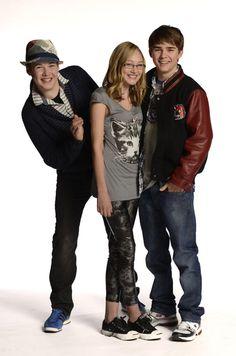 Lyle Lettau (Tristan), Olivia Scriven (Maya) and  Dylan Everett (Cam) #Degrassi