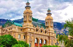 Opera De Monte Carlo, Monaco is a popular tourist destination in Monaco.Also known as the Salle Garnier, this 1892 confection of neoclassical splendour adjoining Monte Carlo Casino was designed by Charles Garnier (who also designed the Paris opera)