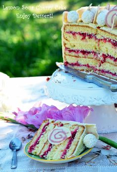 Something Sweet, Vanilla Cake, Food And Drink, Sweets, Candy, Traditional, Cooking, Desserts, Kitchen