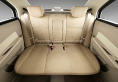 Maruti Swift Dzire Rear Seat Interior - http://www.cardekho.com/interior-pictures/maruti-swift-dzire/rear-seats-52.htm