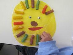 preschool pasta crafts | is for lion in preschool | Teach Preschool