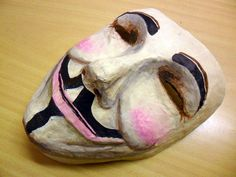 Guy Fawkes Paper Mache Mask