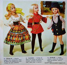 Catálogos Boneca Susi da Estrela de 1966 a 2014
